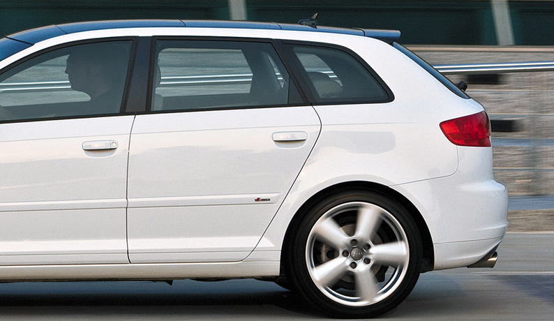 audi a3 8p sportback 5 portes aileron becquet s line s3 style 2005 2013 ebay. Black Bedroom Furniture Sets. Home Design Ideas