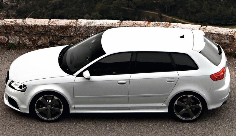 spoiler alettone posteriore audi a3 8p sportback rs3 stile. Black Bedroom Furniture Sets. Home Design Ideas
