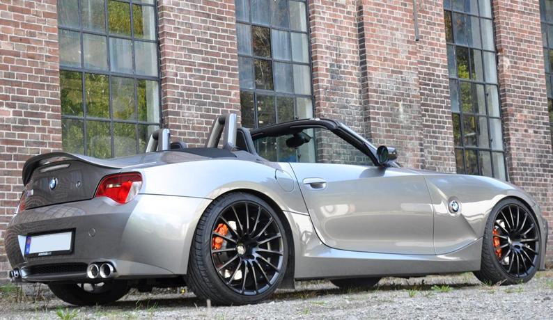 bmw z4 e85 convertible cabrio aileron becquet aero style. Black Bedroom Furniture Sets. Home Design Ideas