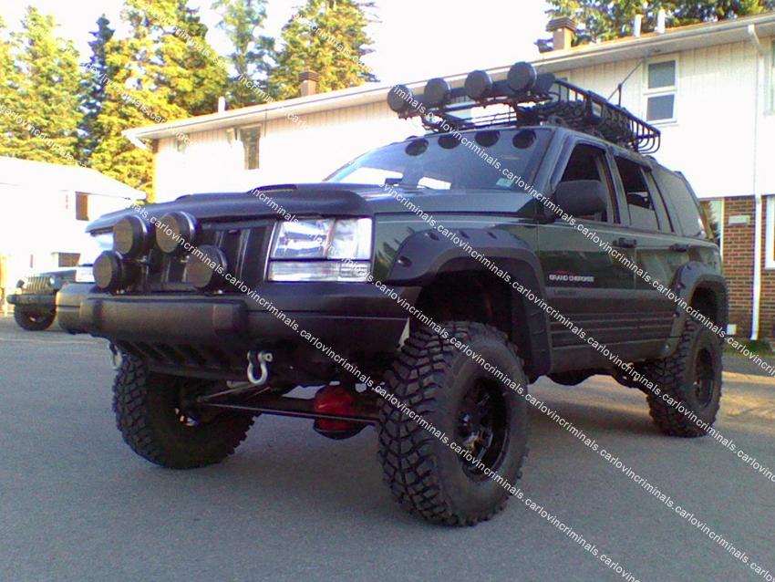 Jeep Grand Cherokee ZJ Fender Flares Arch Extensions | eBay