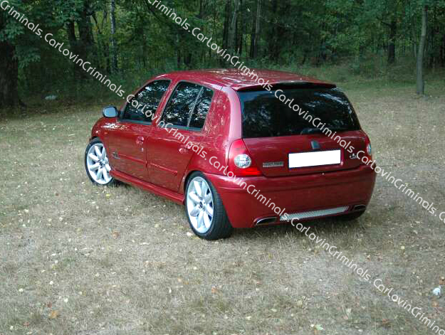 renault clio mk2 body kit 2x bumper side skirts ebay. Black Bedroom Furniture Sets. Home Design Ideas