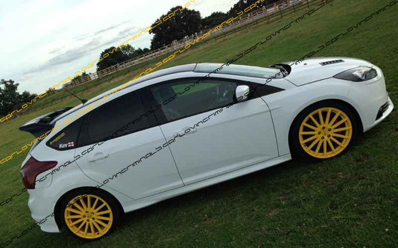 ford focus rs parts bumpers rubbing strips mince his. Black Bedroom Furniture Sets. Home Design Ideas