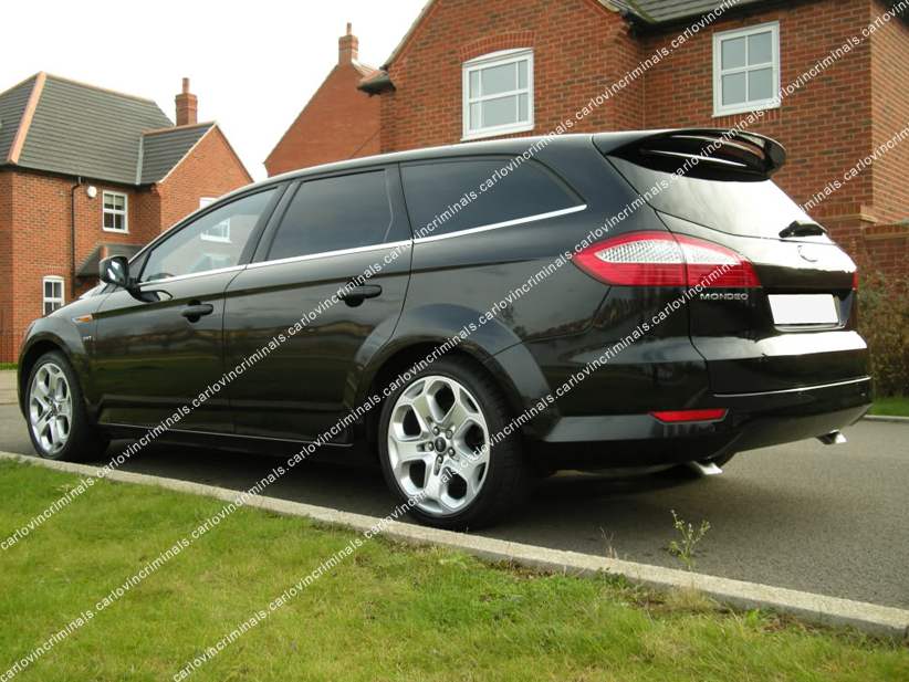 spoiler alettone posteriore ford mondeo 4 station wagon ebay. Black Bedroom Furniture Sets. Home Design Ideas