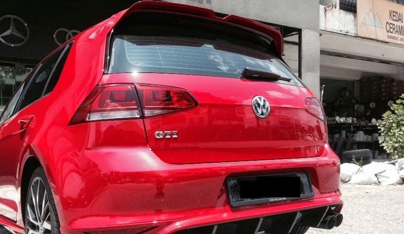 Vw Golf Mk7 Vii Gti Gtd Spoiler Ebay