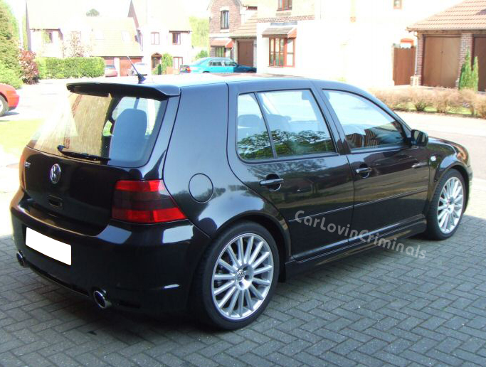 vw golf mk4 r32 5 door side skirts ebay. Black Bedroom Furniture Sets. Home Design Ideas