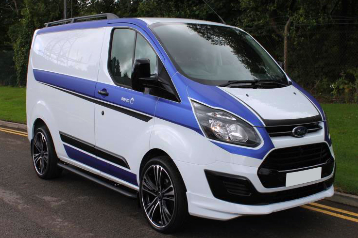 ford transit custom rs edition look front bumper lip spoiler splitter ebay. Black Bedroom Furniture Sets. Home Design Ideas