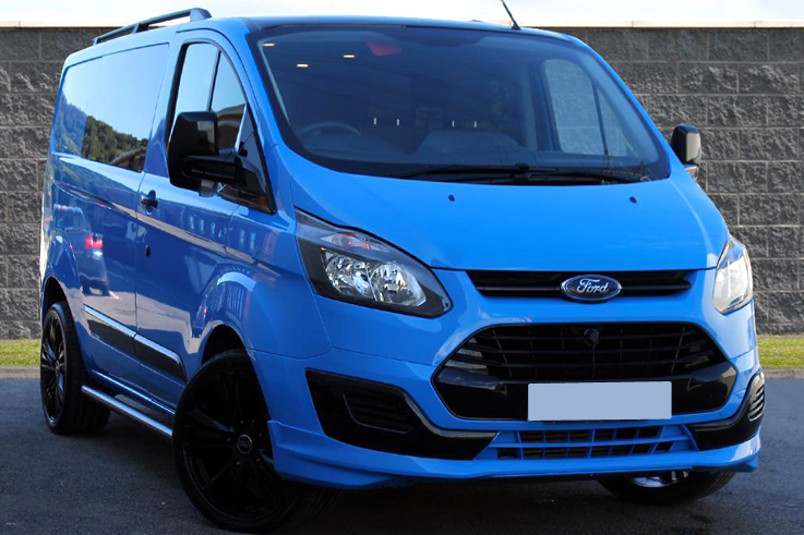 Ford Transit Custom Rs Edition Look Front Bumper Lip