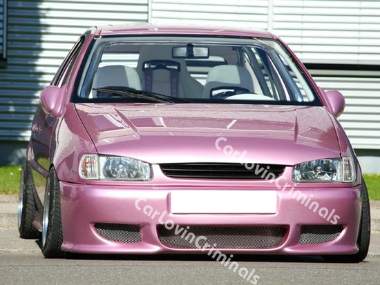 vw polo 6n body kit 2x bumper side skirts spoiler ebay. Black Bedroom Furniture Sets. Home Design Ideas