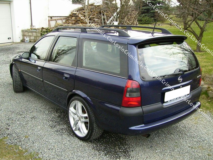vauxhall vectra b estate roof spoiler ebay. Black Bedroom Furniture Sets. Home Design Ideas