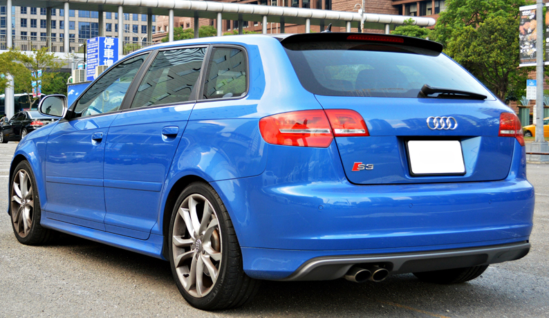 audi a3 8p 5 door sportback s3 look side skirts ebay. Black Bedroom Furniture Sets. Home Design Ideas