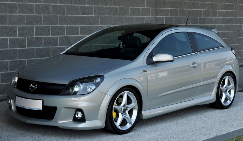 vauxhall opel astra h gtc opc look side skirts ebay. Black Bedroom Furniture Sets. Home Design Ideas