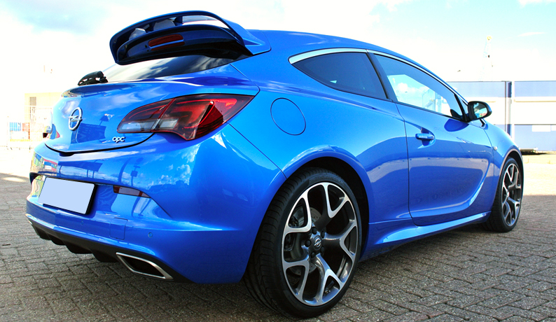 vauxhall astra j gtc spoiler vxr opc bi plane style ebay. Black Bedroom Furniture Sets. Home Design Ideas