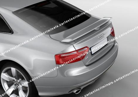 Heckspoiler pour Audi a5 s5 b8 8t spoiler Heckspoiler lèvre sporback s-line