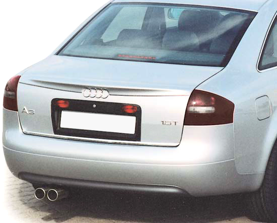 audi a6 c5 boot lip spoiler ebay. Black Bedroom Furniture Sets. Home Design Ideas