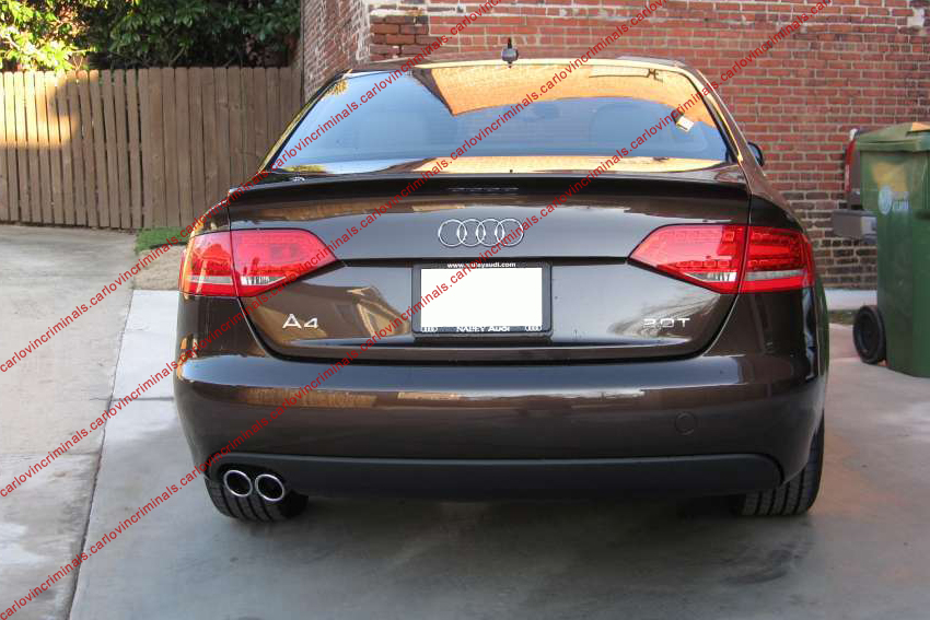 audi a4 b8 boot spoiler ebay. Black Bedroom Furniture Sets. Home Design Ideas