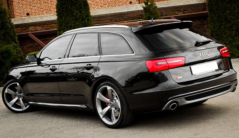 AUDI A6 C7 AVANT S LINE S6 RS6 LOOK SPOILER From 2011