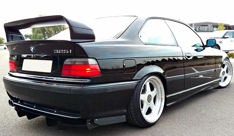 bmw 3 series e36 m3 gt class ii 2 spoiler ebay. Black Bedroom Furniture Sets. Home Design Ideas