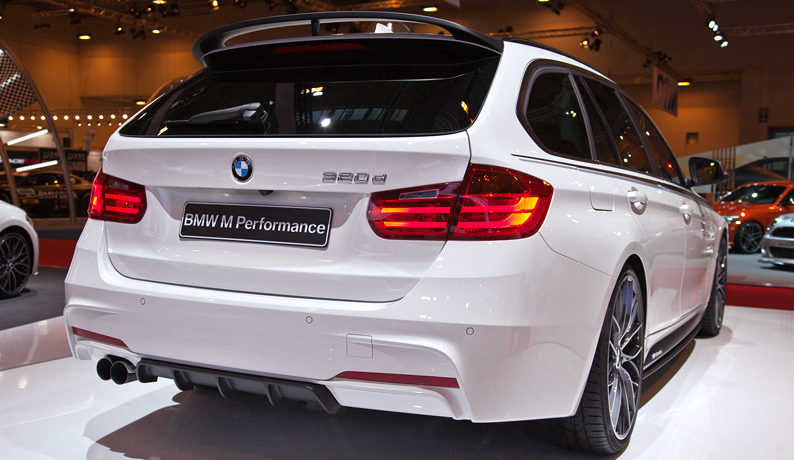 bmw 3 series touring f31 performance look spoiler ebay. Black Bedroom Furniture Sets. Home Design Ideas