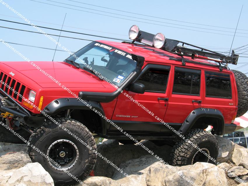 jeep jordanlights xj retrofits rugged cherokee