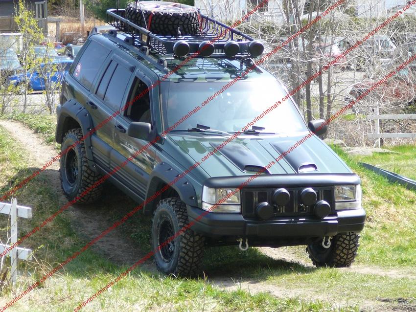 Kit Extensions D Ailes Jeep Grand Cherokee Zj 1992 98 Ebay