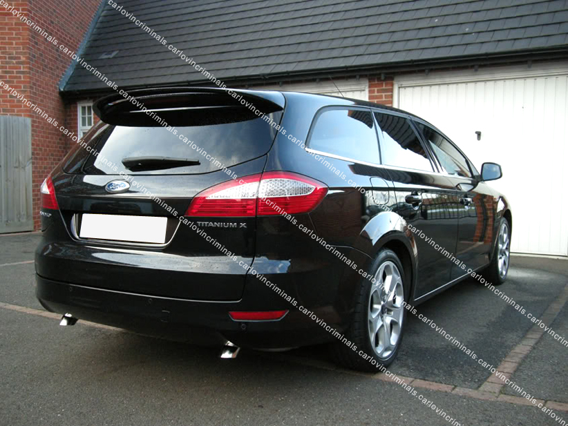 ford mondeo mk4 estate spoiler ebay. Black Bedroom Furniture Sets. Home Design Ideas