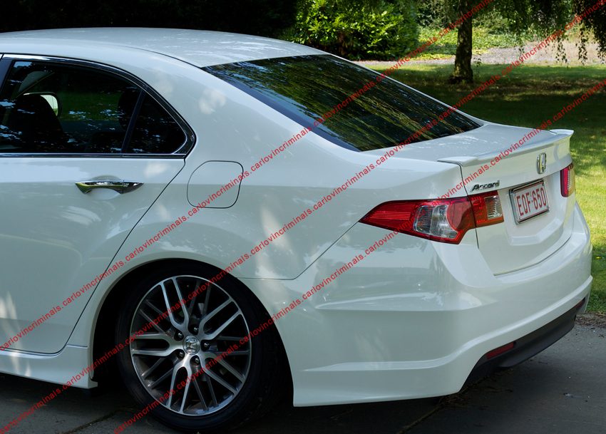 Honda Accord Ix From 2008 Spoiler Ebay