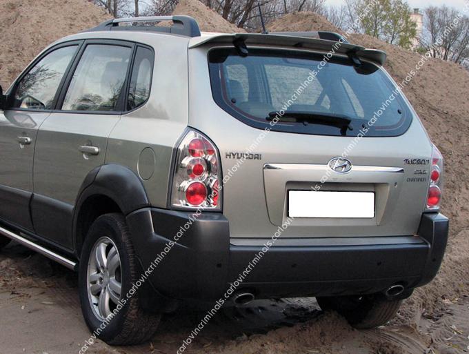 Hyundai Tucson Roof Spoiler Ebay