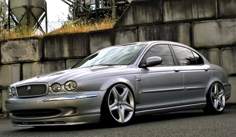 jaguar x type front bumper lip spoiler skirt valance ebay. Black Bedroom Furniture Sets. Home Design Ideas