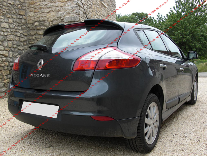 renault megane mk3 sport spoiler 5 door model ebay. Black Bedroom Furniture Sets. Home Design Ideas