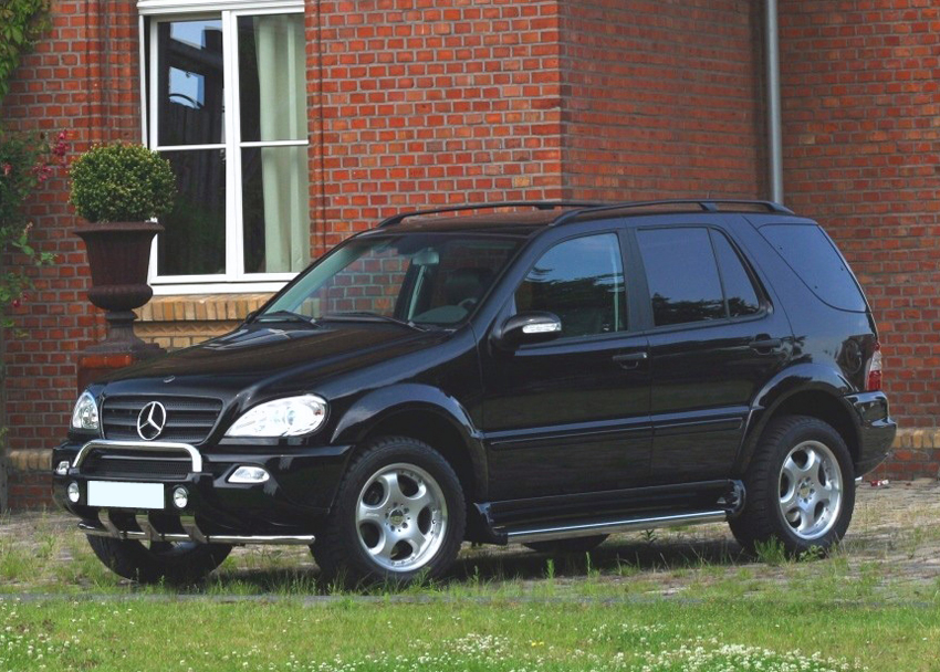 mercedes ml w163 fender flares wheel arch extensions ebay. Black Bedroom Furniture Sets. Home Design Ideas