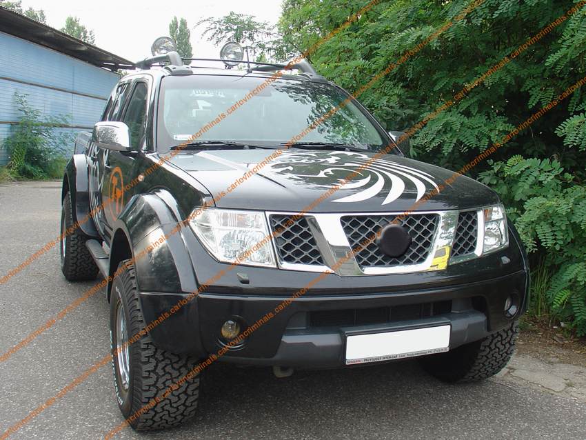 fender flares / arch extensions compatible with nissan navara d40