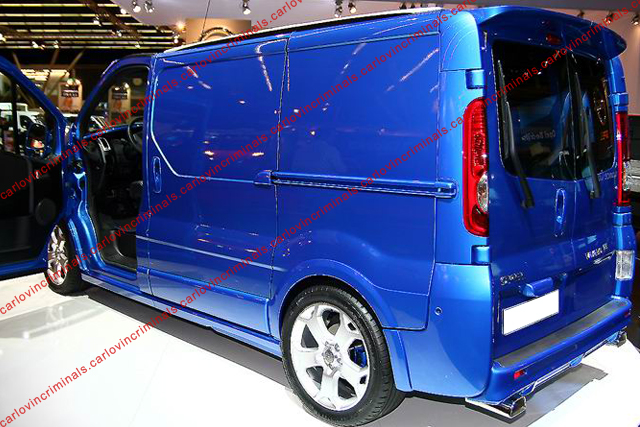 renault trafic opel vivaro portes battantes aileron. Black Bedroom Furniture Sets. Home Design Ideas