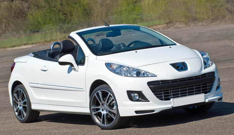 peugeot 207 facelift 2009 2012 front lip splitter valance spoiler ebay. Black Bedroom Furniture Sets. Home Design Ideas