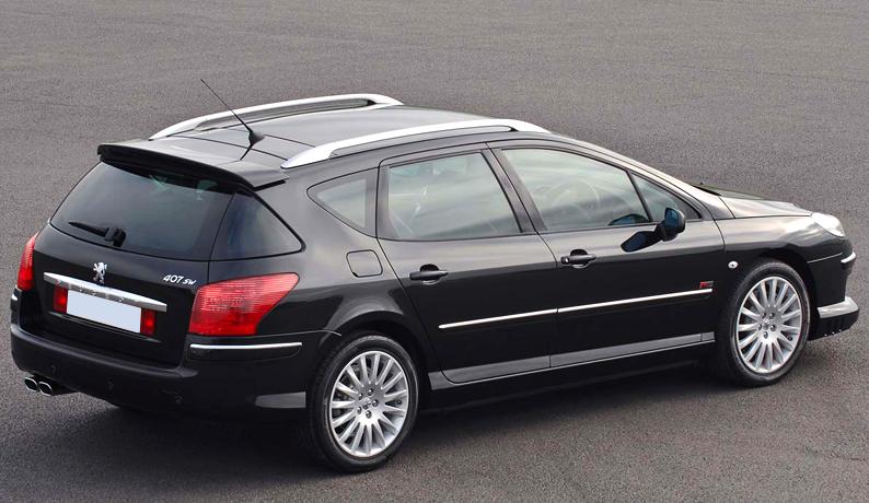 spoiler alettone posteriore peugeot 407 sw station wagon. Black Bedroom Furniture Sets. Home Design Ideas