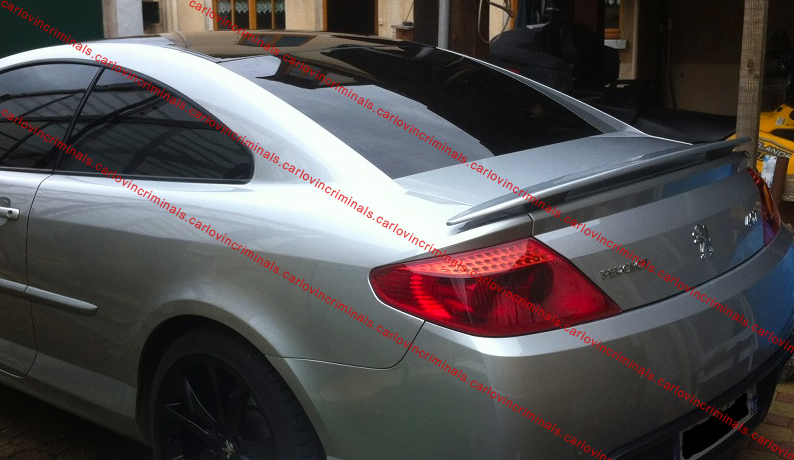 peugeot 407 coupe spoiler ebay. Black Bedroom Furniture Sets. Home Design Ideas