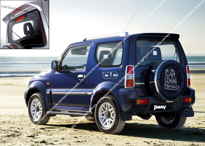suzuki jimny spoiler. Black Bedroom Furniture Sets. Home Design Ideas