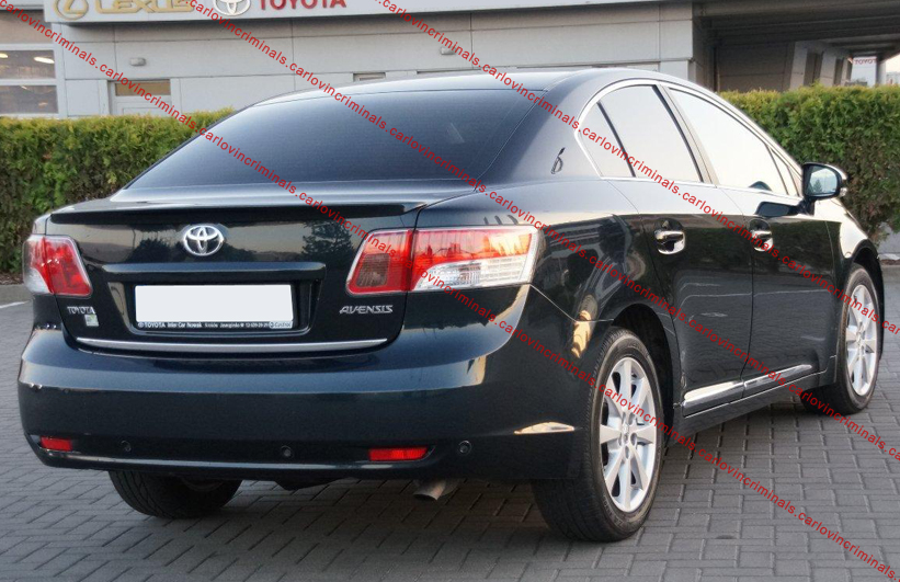 toyota avensis from 2009 boot spoiler ebay. Black Bedroom Furniture Sets. Home Design Ideas