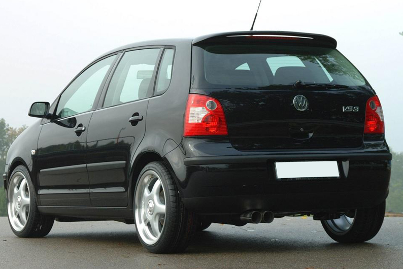 vw polo 9n spoiler 2002 2009 ebay. Black Bedroom Furniture Sets. Home Design Ideas