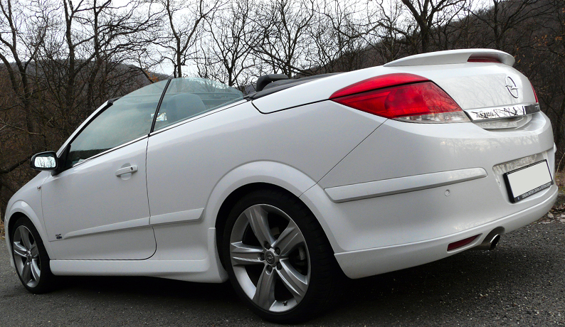 vauxhall astra h mk5 twintop boot spoiler opc line ebay. Black Bedroom Furniture Sets. Home Design Ideas