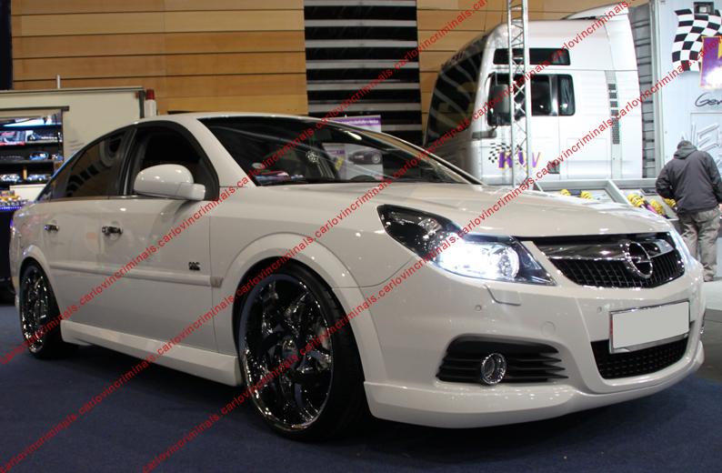 Vauxhall Vectra C 2005 2008 Front Bumper Spoiler