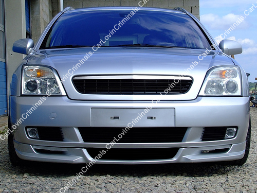 vauxhall vectra c front bumper spoiler valance ebay. Black Bedroom Furniture Sets. Home Design Ideas