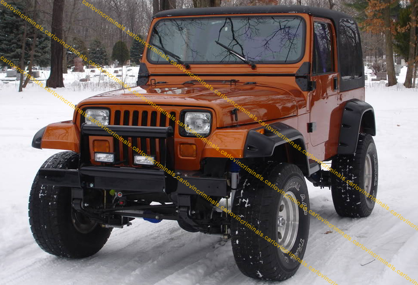 JEEP WRANGLER YJ FENDER FLARES 6 INCHES / ARCH EXTENSIONS   eBay