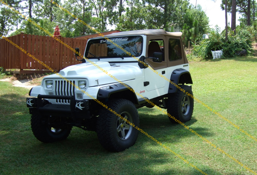 JEEP WRANGLER YJ FENDER FLARES 6 INCHES / ARCH EXTENSIONS ...