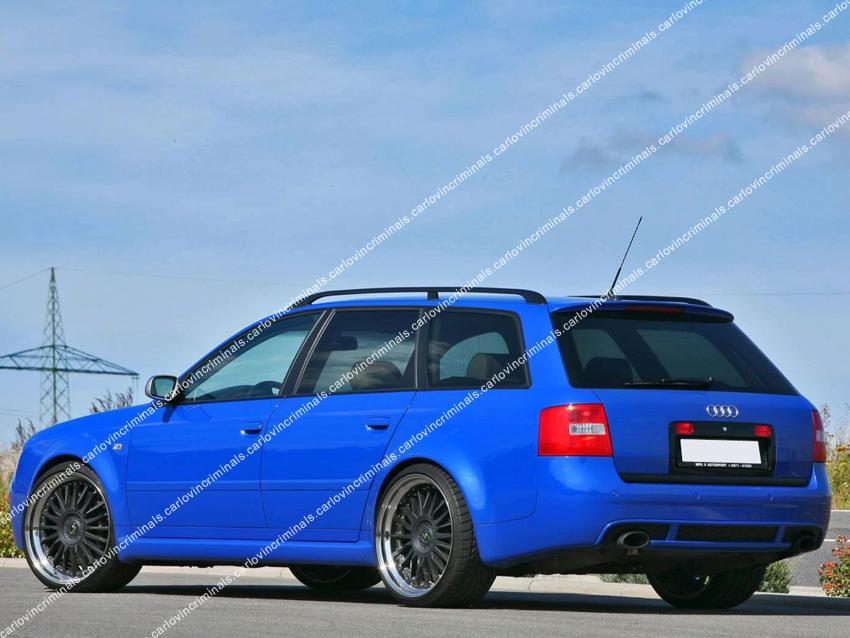 Audi A6 C5 Avant Estate Spoiler Ebay