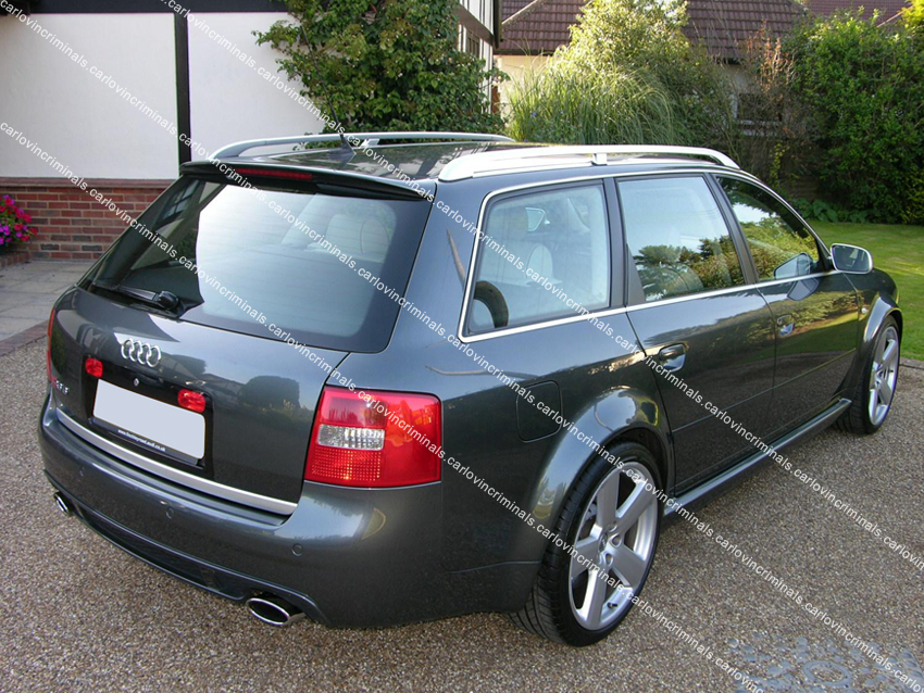 audi a6 c5 avant estate spoiler ebay. Black Bedroom Furniture Sets. Home Design Ideas